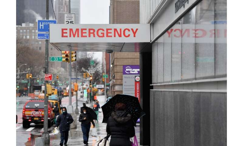 Millions of residents have been ordered to stay at home in New York and all non-essential businesses have been shut and schools