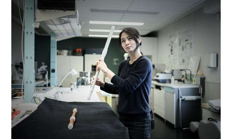 Mina Jang (pictured) was behind the idea of experimenting with 3D printing of old musical instruments