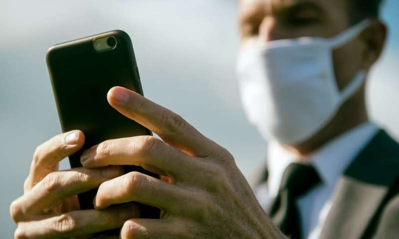 Mobile phones are covered in germs. Disinfecting them daily could help stop diseases spreading