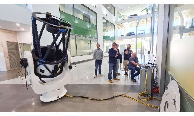 Moon to Earth: WA to host space communications station