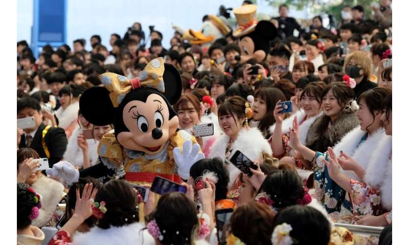 More than 30 million visitors flood into Tokyo's Disneyland and DisneySea each year