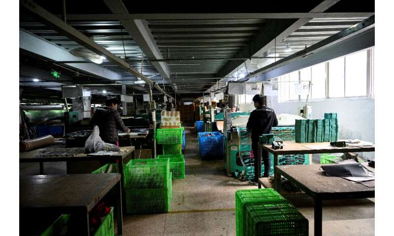 Most factories remain closed or barely operating in Wenzhou, with rows of supplier businesses shuttered and silent
