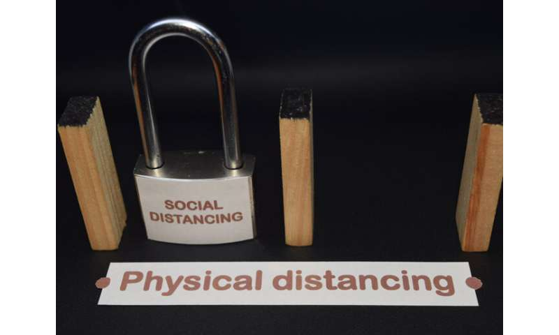 Move over social distancing, it's time for physical distancing