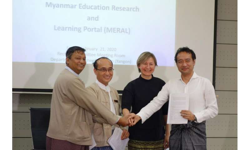 Myanmar to be 1st country in ASEAN Region to launch free and open national research portal
