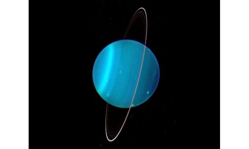 Origins of Uranus' oddities explained by Japanese astronomers