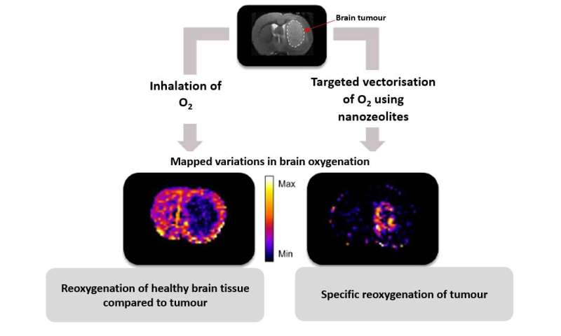 Nanocrystals to deliver oxygen to brain tumours