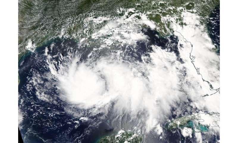 NASA animation tracks Tropical Storm Hanna's progression