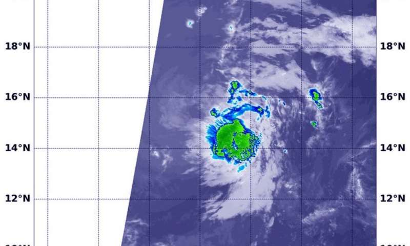 NASA catches formation and final fate of Eastern Pacific's Tropical Depression 1E