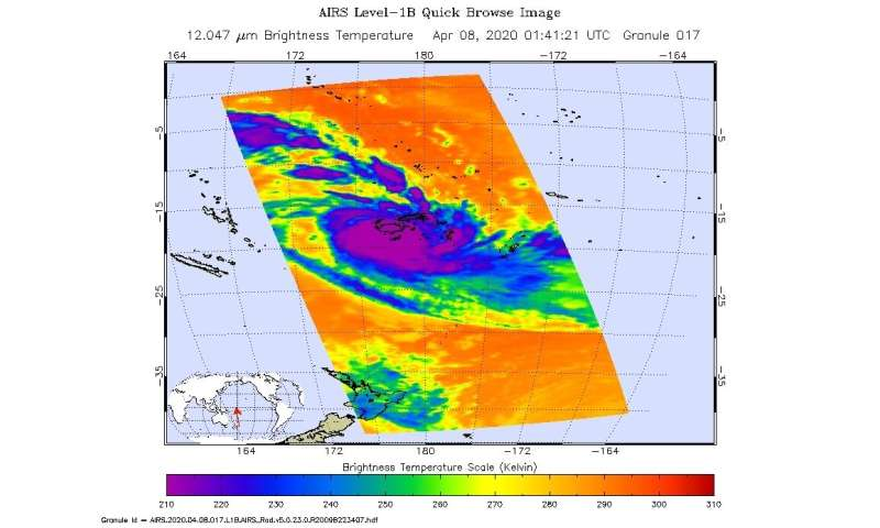 NASA continues tracking Tropical Cyclone Harold's excessive rainfall