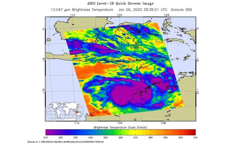 NASA finds heavy rain potential in Tropical Cyclone Blake