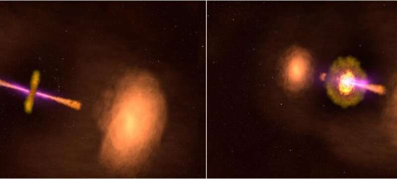 NASA missions explore a 'TIE fighter' active galaxy Nasamissions