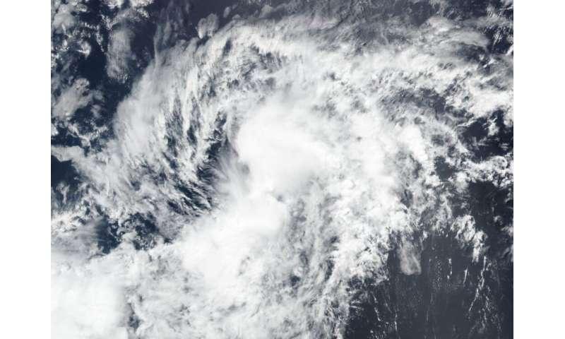 NASA-NOAA's Suomi NPP satellite sees Tropical Storm Boris form