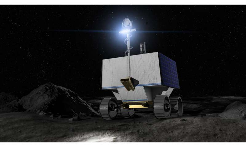 NASA selects Astrobotic to fly water-hunting rover to the moon