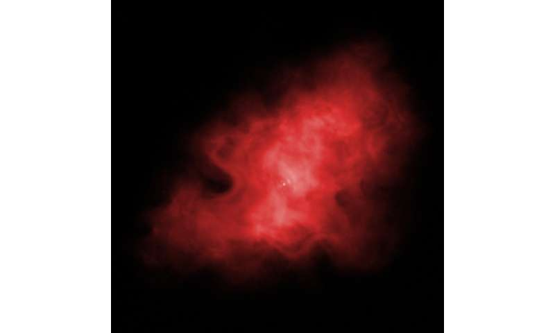 NASA's great observatories help astronomers build a 3-D visualization of exploded star