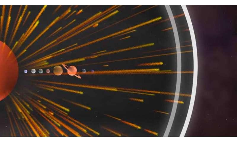 NASA's IBEX charts 11 years of change at the boundary to interstellar space