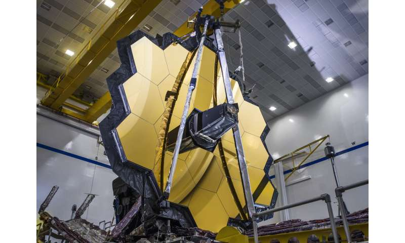 NASA's James Webb Space Telescope full mirror deployment a success