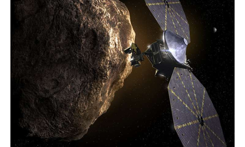 NASA's Lucy mission confirms discovery of Eurybates satellite