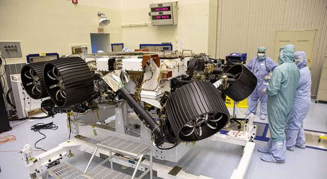 NASA's Mars perseverance rover gets its sample handling system