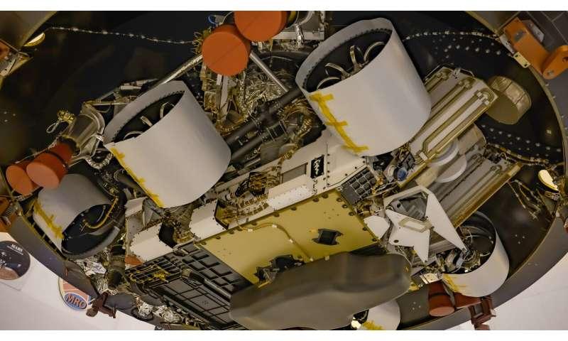 Le prochain rover de la NASA sur Mars rend hommage aux équipes médicales qui luttent contre le virus