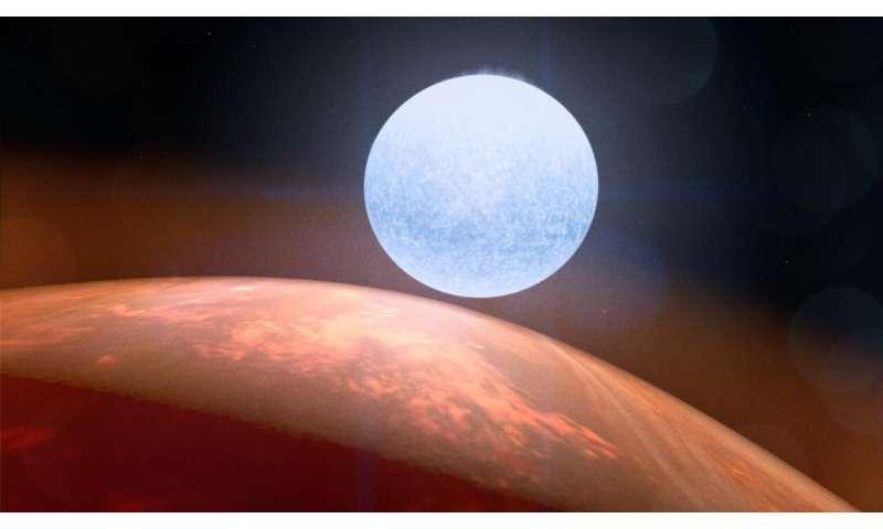 Le TESS de la NASA offre de nouvelles perspectives sur un monde ultrahot