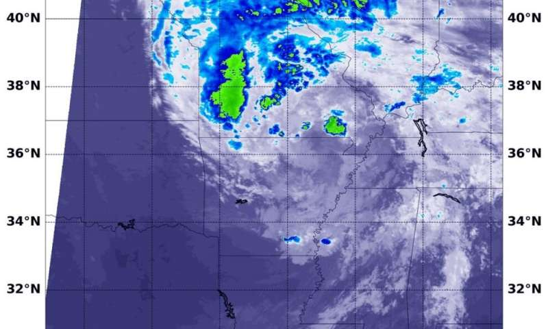 NASA tracks Tropical Depression Cristobal moving toward Great Lakes