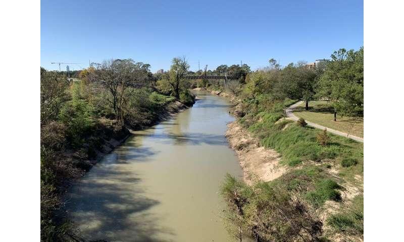 Natural bayou better when floods threaten Houston