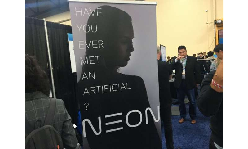 Neon is being touted as a new kind of artificial intelligence