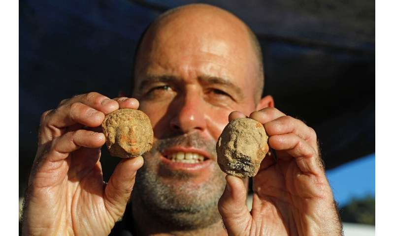 """Neria Sapir, excavation director for the Israel Antiquities Authority, says the find is """"one of the largest and most import"""