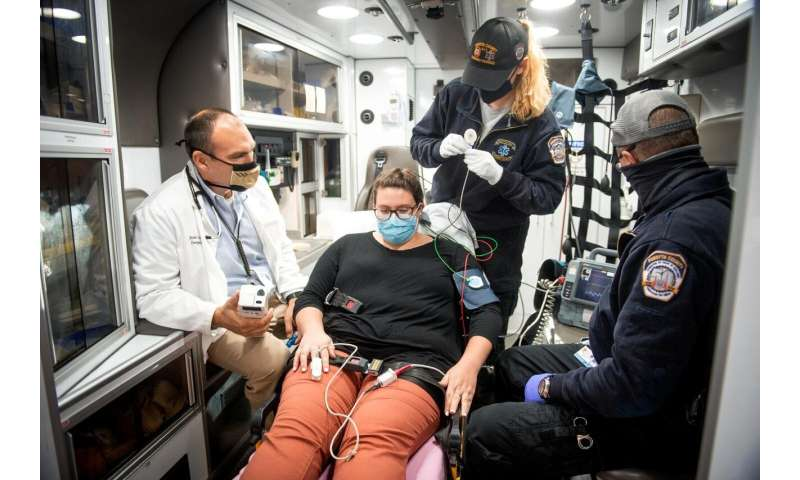 New approach helps EMTs better assess chest pain en route to hospital