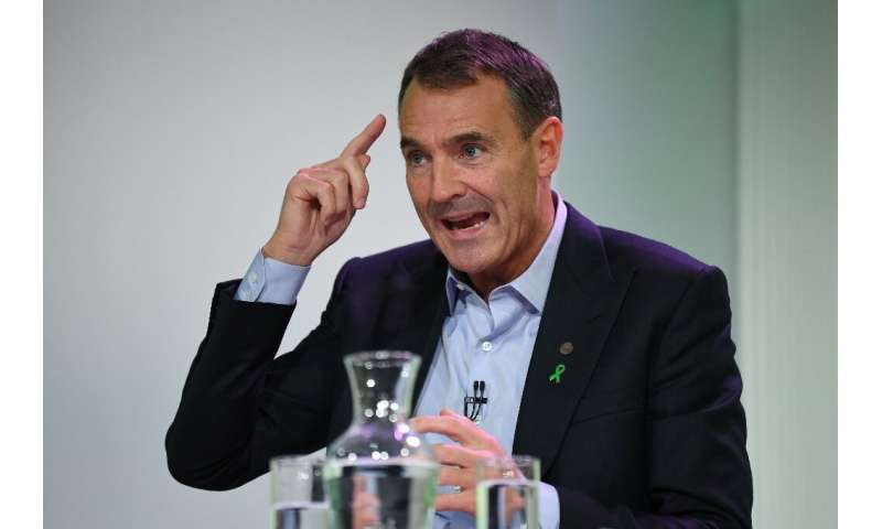 """New BP boss Looney vowed to oversee a """"fundamental"""" reorganisation to reposition the company for a cleaner future"""