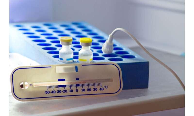 واکسن جدید COVID-19 باید بسیار سرد نگه داشته شود.  نیاز به شبکه توزیع جدید دارد