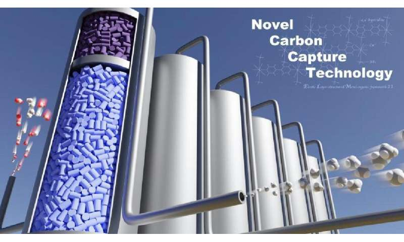 New-generation CO2 gas separation system using gate-type adsorbents