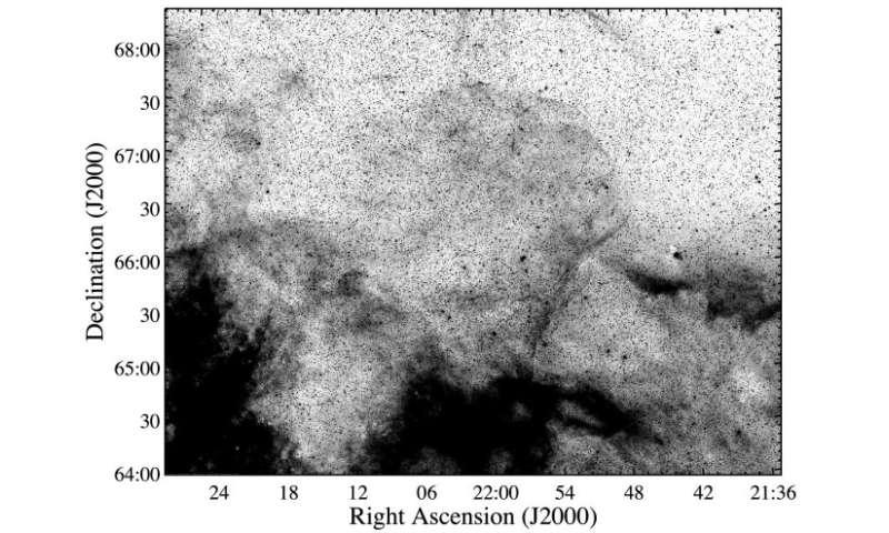 بقایای ابرنواختر بزرگی که تا الان ناشناخته بود کشف شد SNR صورت فلکی سفه اشعه ایکس