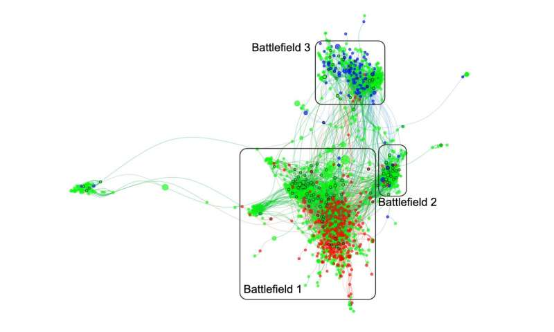 New map reveals distrust in health expertise is winning hearts and minds online
