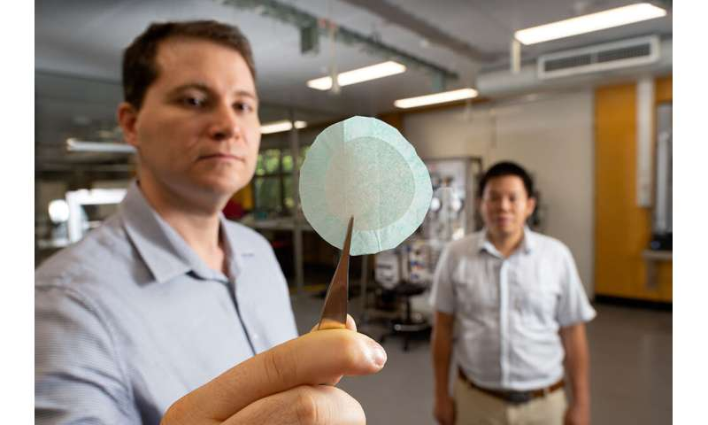 New mask material can remove virus-size nanoparticles