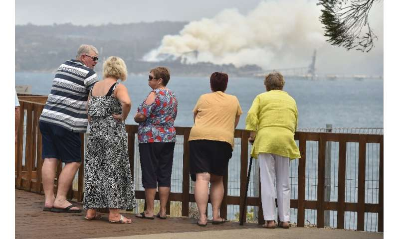 New South Wales Premier Gladys Berejiklian said there were more than 130 fires burning in the state