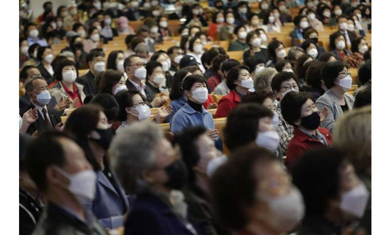 New virus clusters show risks of 2nd wave as protests flare