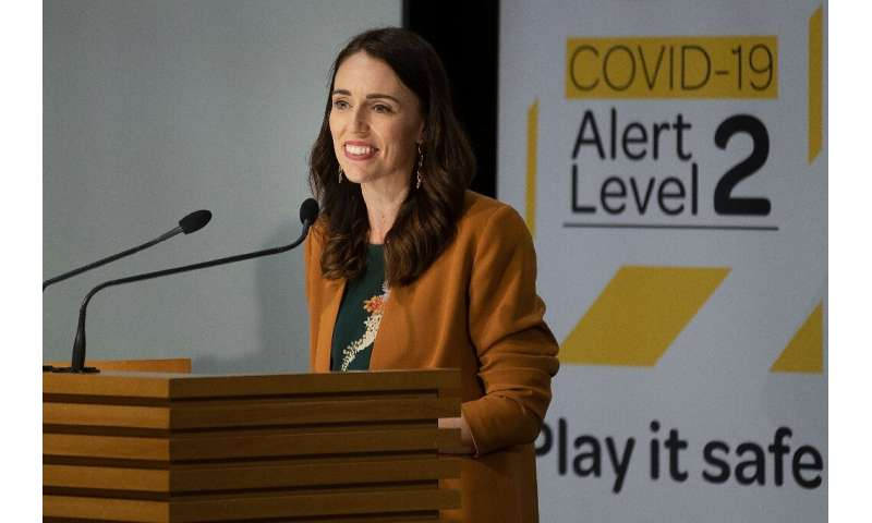 "New Zealand PM Jacinda Ardern said the country was ""prepared"" for new virus cases"