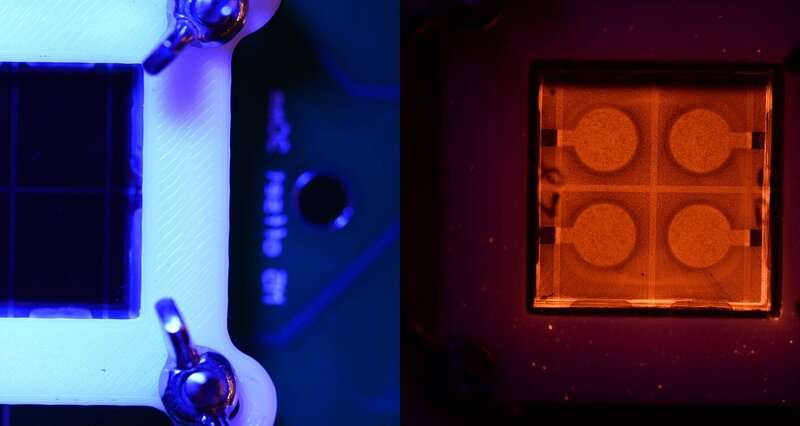 Next gen solar cells perform better when there's a camera around
