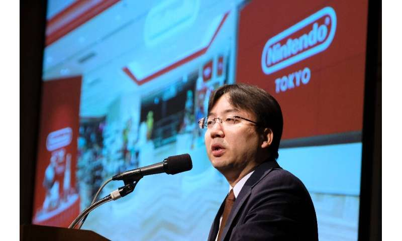 Nintendo won't be bringing out a new version of its wildly popular Switch device this year, the firm's president Shuntaro Furuka