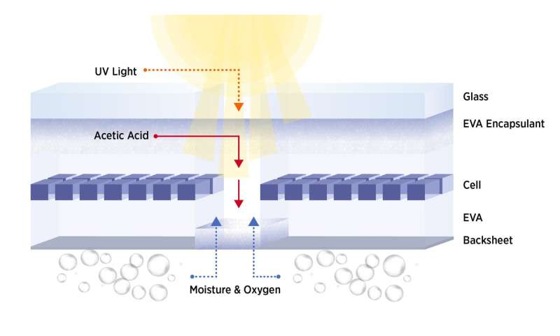 NIST study uncovers a potential driver of premature solar panel failures