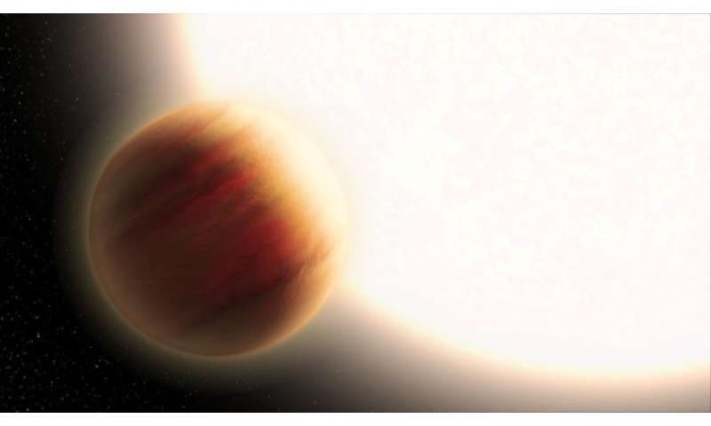 NO BLUE SKIES FOR SUPER-HOT PLANET WASP-79B