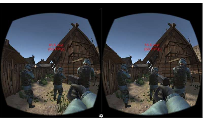 Novel system allows untethered high-quality multi-player VR