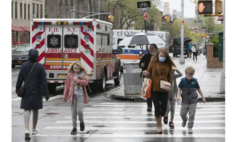NYC to test 140K people for virus antibodies in next month