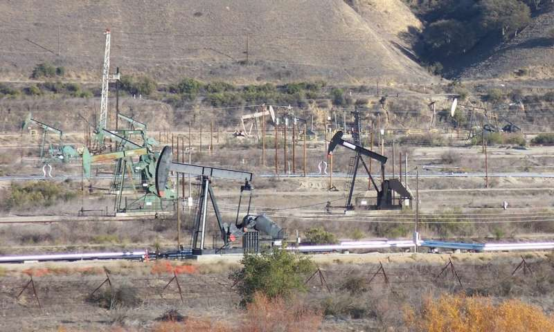 Oil field operations likely triggered earthquakes in California a few miles from the San Andreas Fault