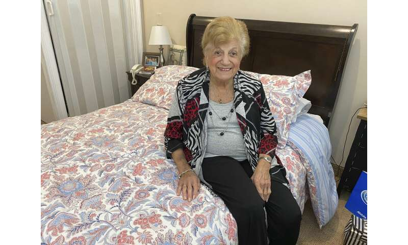One fortunate 90-year-old survived COVID-19, and offers hope