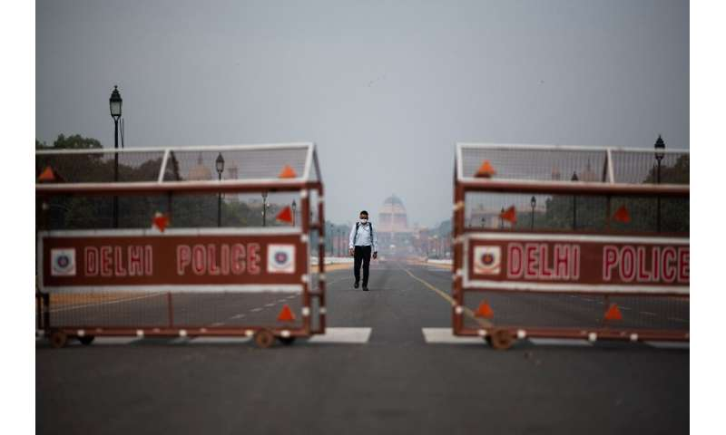 On the day India imposed its lockdown, Delhi's skies were hazy