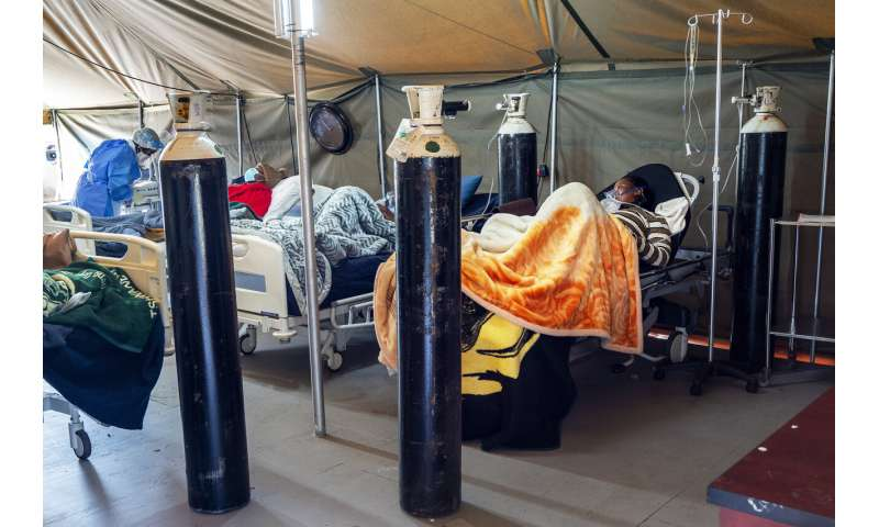 Oxygen already runs low as COVID-19 surges in South Africa