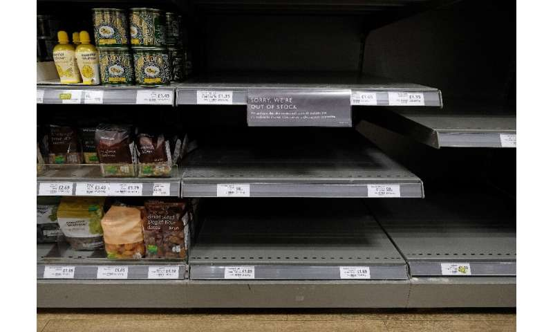 Panic buying as people faced lockdowns demonstrated the fragility of food chains
