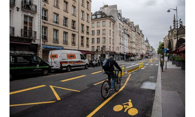 Paris mayor Anne Hidalgo is turning the French capital into a bike-friendly city